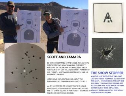 Scott and Tamara – A (gun) love story